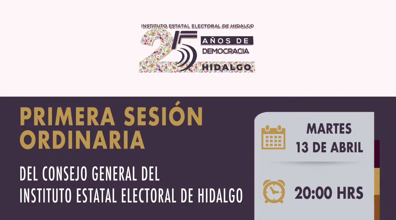 PRIMERA SESIÓN ORDINARIA 13/04/2021